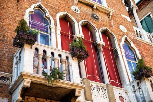 Photograph - Brick Design In Venice by John Rizzuto