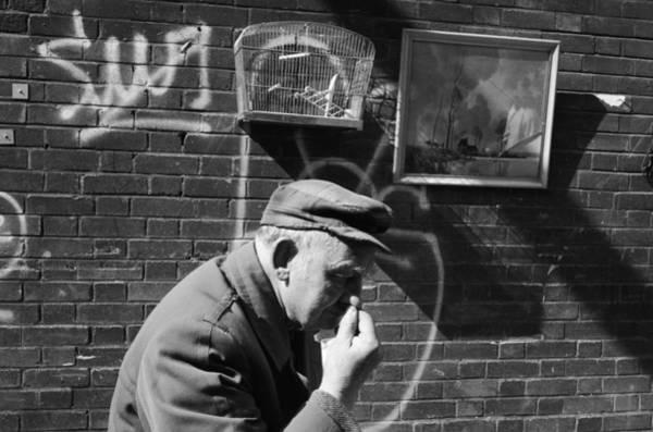 Birdcage Photograph - Brick Lane Scene by Steve Eason