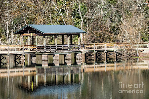 Photograph - Brick Pond Park - North Augusta Sc by Sanjeev Singhal