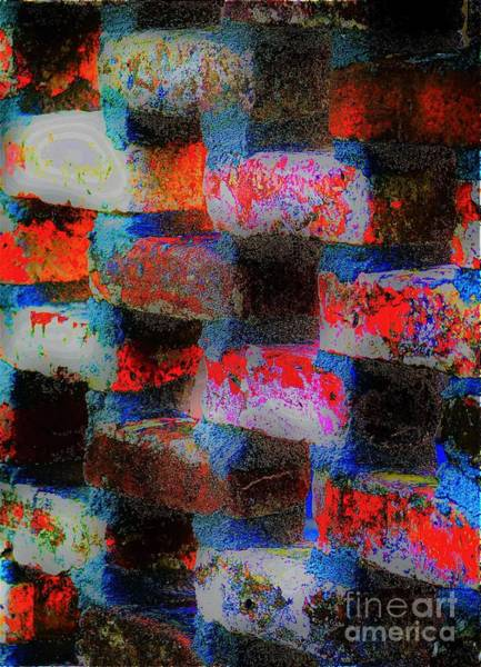 Photograph - Brick Wall by Merle Grenz