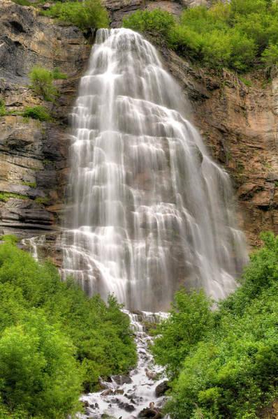 Bridal Photograph - Bridal Veil Falls by Tom Kelly Photo