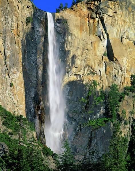 Wall Art - Photograph - Bridal Veil Falls, Yosemite National by Design Pics/david L. Brown