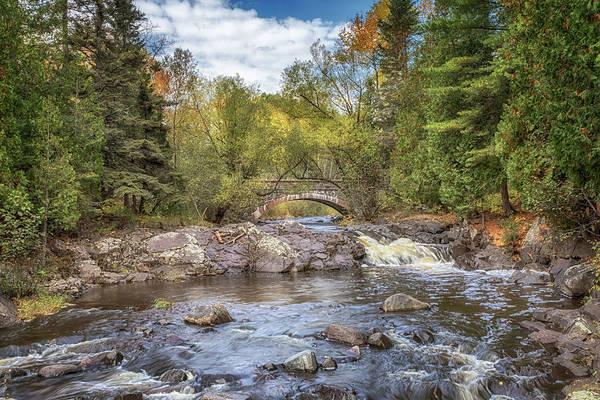 Photograph - Bridge #1 At Seven Bridges Road by Susan Rissi Tregoning
