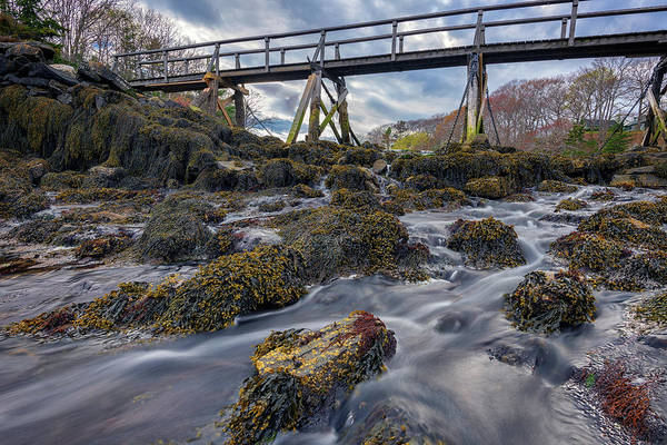 Wall Art - Photograph - Bridge Across Back Cove by Rick Berk