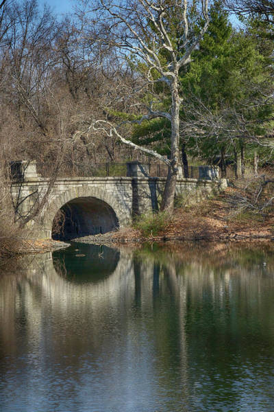 Photograph - Bridge Arch Reflections by Cate Franklyn
