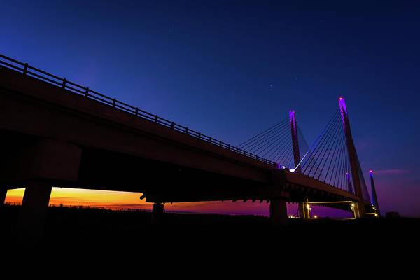Photograph - Bridge Between Night And Day by Gary Kochel