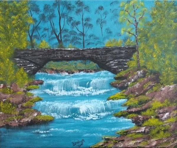 Wall Art - Painting - Bridge Of Positive Vibes by Bindiya Goyal