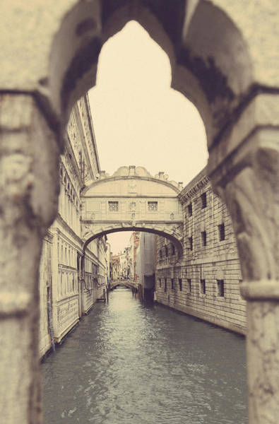 Photograph - Bridge Of Sighs Venice by Georgia Fowler