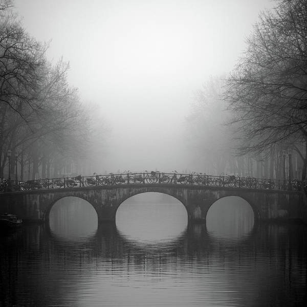 Photograph - Bridge On Keizersgracht, Amsterdam by Cultura Exclusive/alex Holland