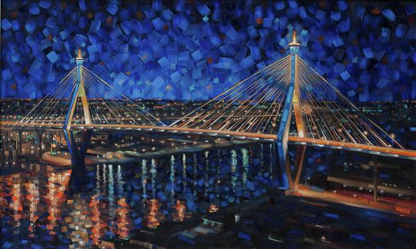 Painting - Bridge Over Chao Phraya by Rob Buntin