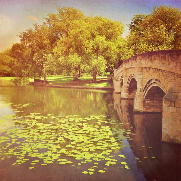 Randle Photograph - Bridge Over River by Photo - Lyn Randle