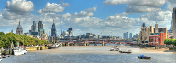 Wall Art - Photograph - Bridge Over River Thames In London by Richard Fairless