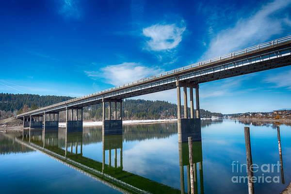 Photograph - Bridge Over Spokane River by Matthew Nelson