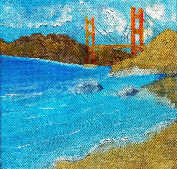 Painting - Bridge Over The Bay by George Dalton