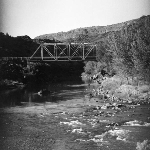 Wall Art - Photograph - Bridge Over The Rio Grande by William Wetmore