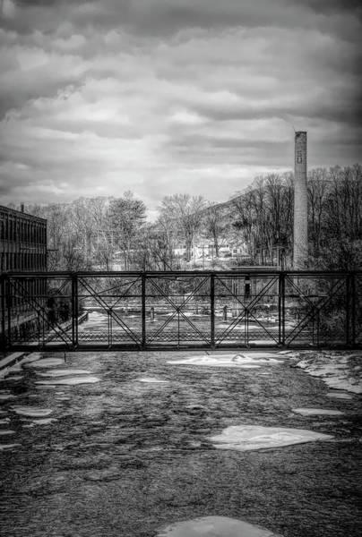 Bridge Over The Sugar River Art Print