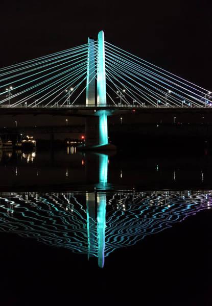 Photograph - Bridge Reflections by Steven Clark