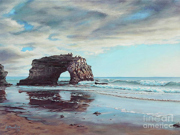 Bridge Rock Art Print