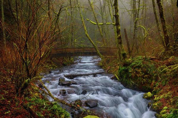 Photograph - Bridge To Bridal Veil Falls by Chris Steele