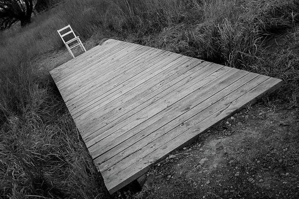 Photograph - Bridge / The Chair Project by Dutch Bieber