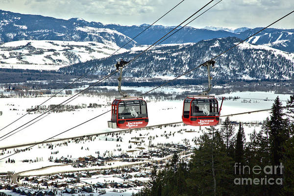 Photograph - Bridger Gondola At Jackson Hole by Adam Jewell