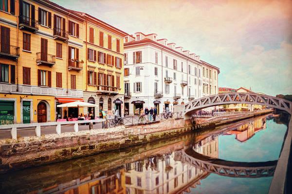 Wall Art - Photograph - Bridges Of Naviglio Grande Milan Italy  by Carol Japp