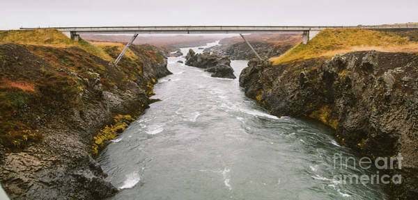 Photograph - Bridges To Cross The Rivers That Cross The Whole Island Of Iceland During A Tour Of Tourism. by Joaquin Corbalan