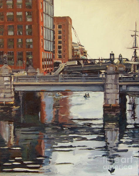 Painting - Bridges Upon Bridges by Deb Putnam