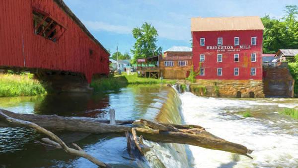 Wall Art - Photograph - Bridgeton Mill #1 by Stephen Stookey