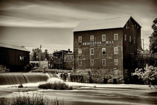 Wall Art - Photograph - Bridgeton Mill -#2 by Stephen Stookey