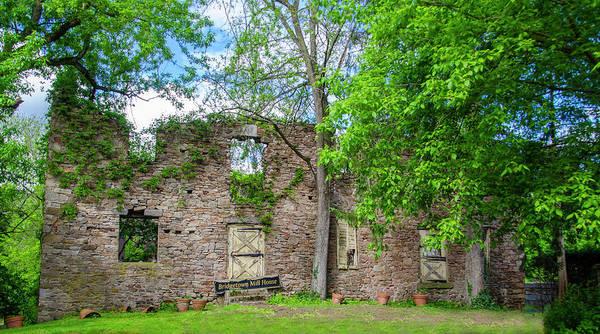 Wall Art - Photograph - Bridgetown Mill House In Ruins by Bill Cannon