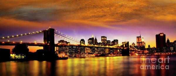 Photograph - Bridging The East River by Scott Kemper