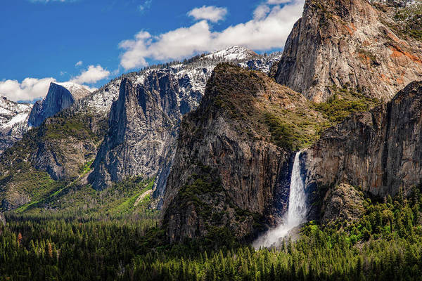 Photograph - Bridleveil At Tunnel View by Gaylon Yancy