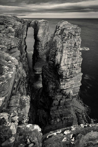 Headlands Photograph - Brig O' Stack by Dave Bowman