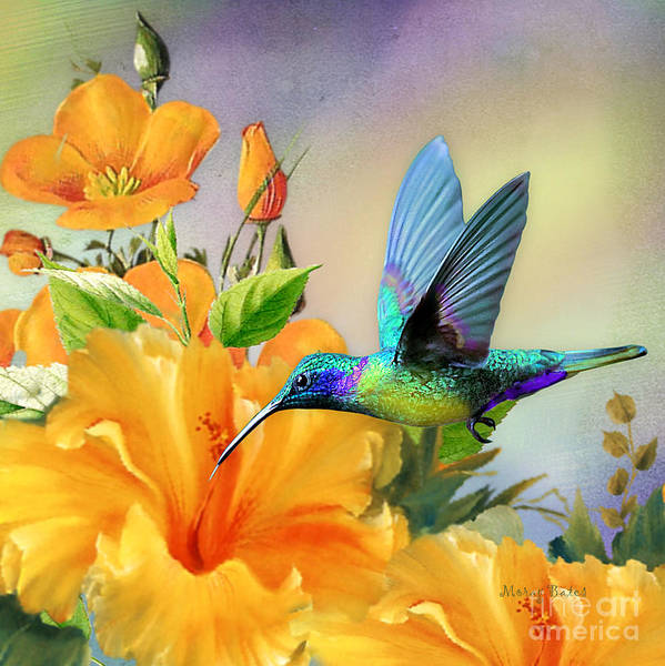 Digital Art - Bright And Beautiful by Morag Bates