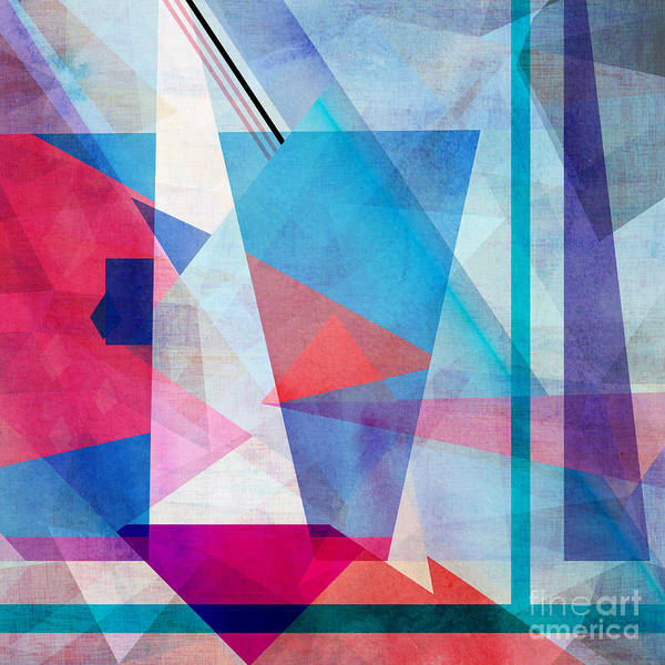 Object Wall Art - Digital Art - Bright Colorful Abstract Background Of by Tanor