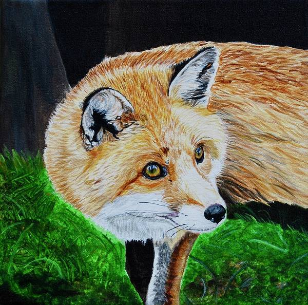 Painting - Bright Eyes by Sonja Jones