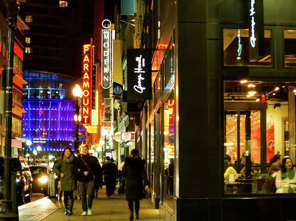 Photograph - Bright Lights Big City by Christina Maiorano