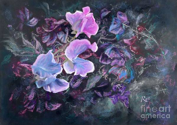 Painting - Bright Sweet Pea by Ryn Shell