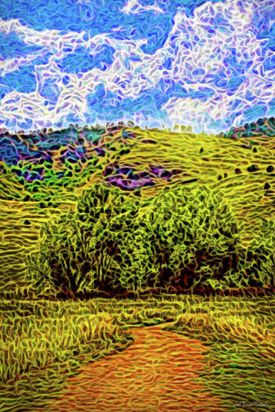 Digital Art - Bright Trail Day by Joel Bruce Wallach