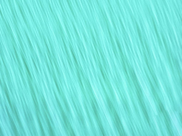 Photograph - Bright Turquoise Blue Blurred Diagonal Lines Abstract  by Teri Virbickis