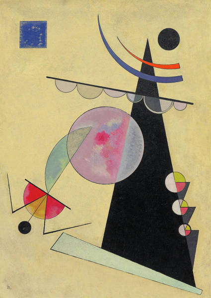Constructivism Painting - Bright Unity - Helle Einheit by Wassily Kandinsky