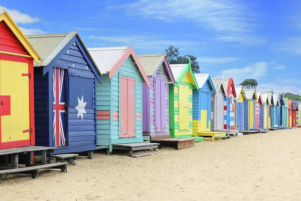 Humor In Art And Photograph - Brighton Beach Huts, Australia Xxxl by 4fr
