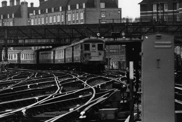 Station To Station Photograph - Brighton Belle by Victor Drees