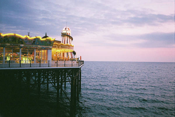 Palace Pier Wall Art - Photograph - Brighton Pier by I Am All The Children Of Light And The Children Of The Day.