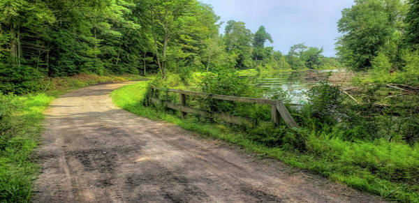 Photograph - Brimfield State Forest Summer Drive by Jeff Folger