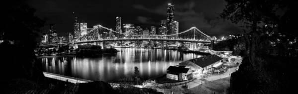 Wall Art - Photograph - Brisbane City Nights by Stephen Sletten