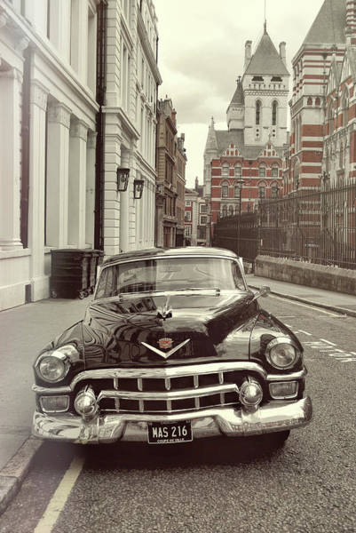 Photograph - British Caddy by JAMART Photography