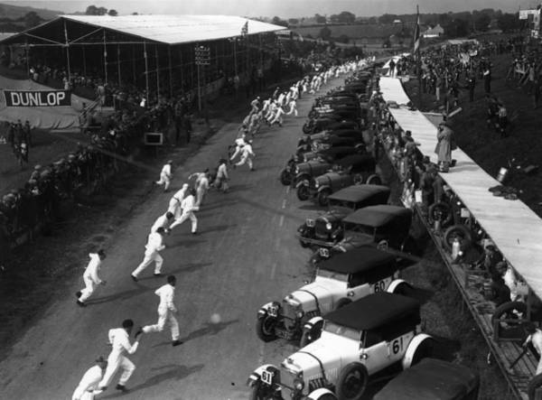 Motor Sport Photograph - British Grand Prix by Fox Photos