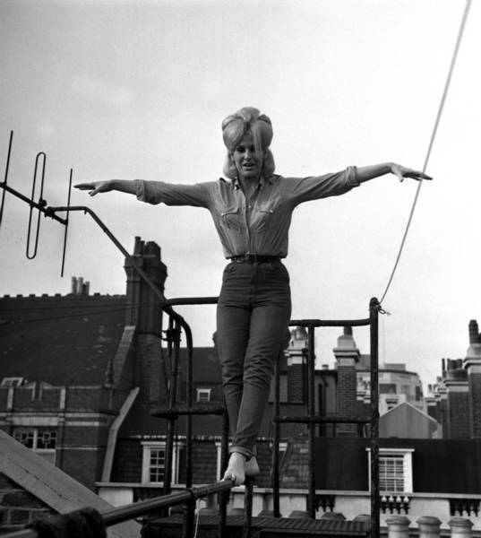 Photograph - British Pop Singer Dusty Springfield by Popperfoto